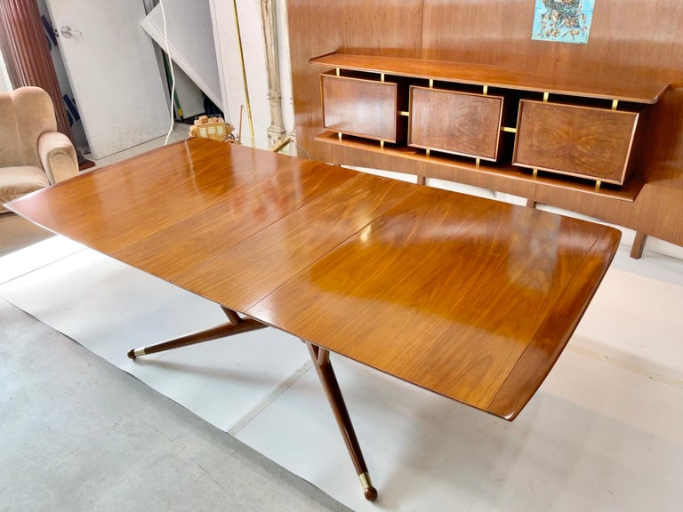 American Atomic Molecule Base Dining Table For Sale