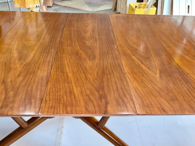 Brass Atomic Molecule Base Dining Table For Sale