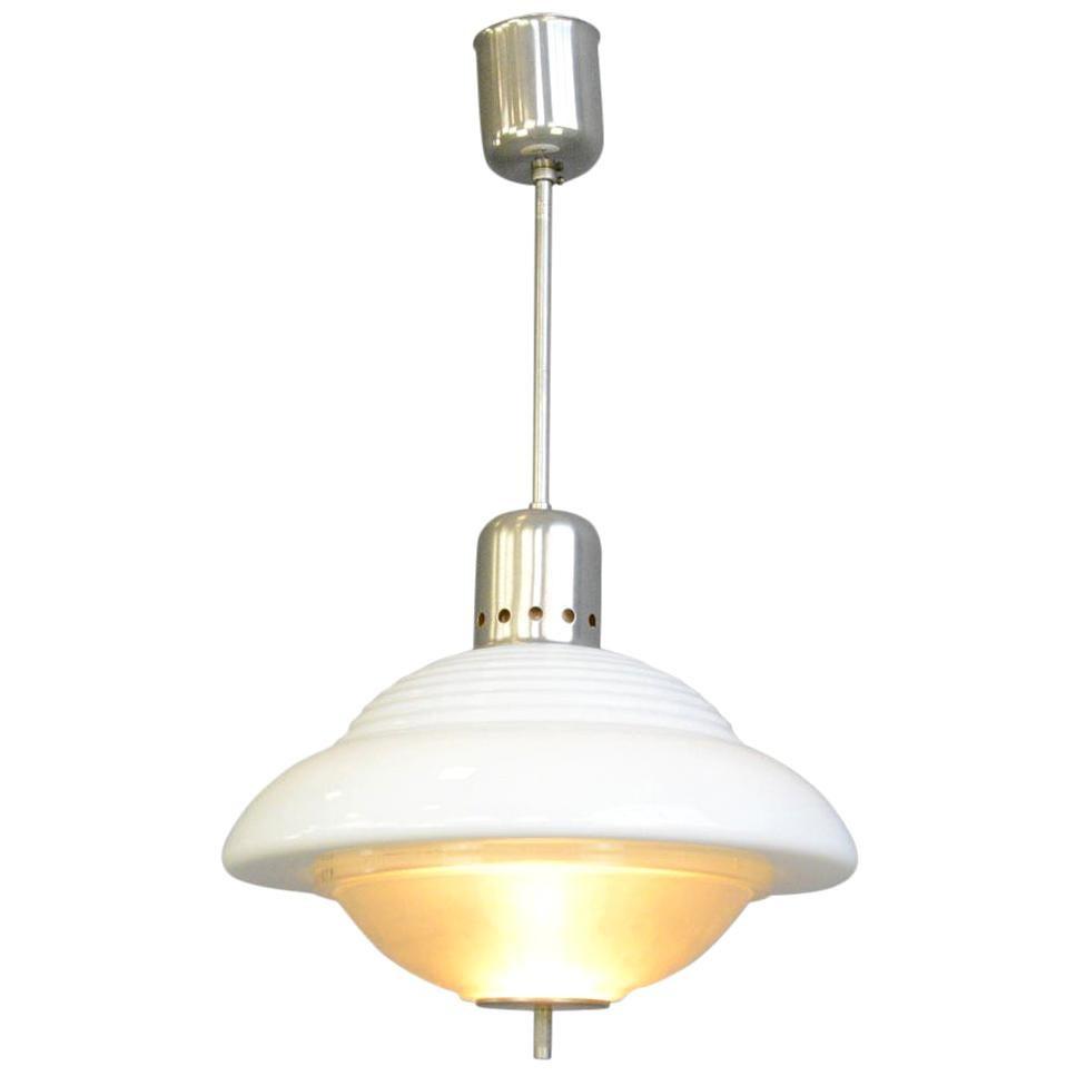 Atomic Pendant Light by Siemens, circa 1950s