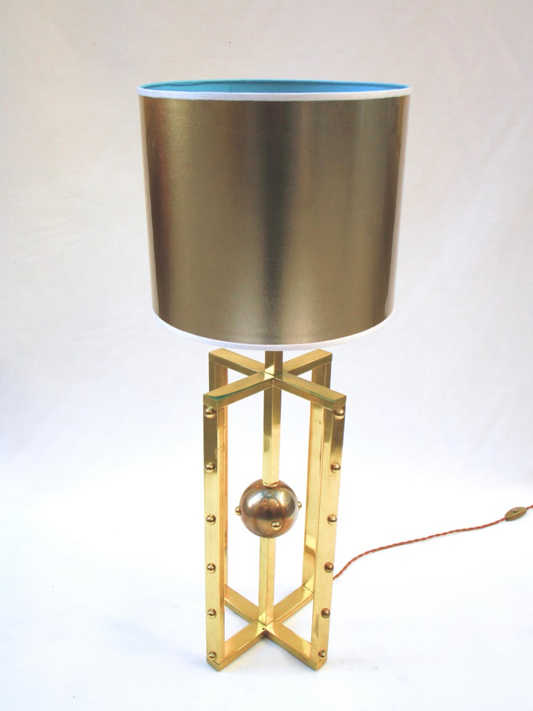 Other Atomo Lamp in Brass, Handmade in Italy For Sale