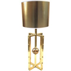 Atomo Lamp in Brass, Handmade in Italy