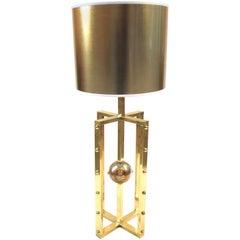 Atomo Lamp in Brass, Handmade in Italy