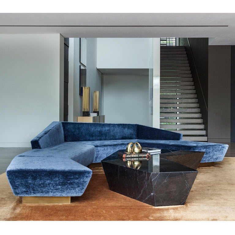 Other Atreus Coffee Table in Solid Marble For Sale