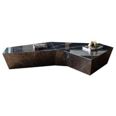 Atreus Coffee Table in Solid Marble