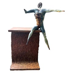 Attesa Bronze Sculpture
