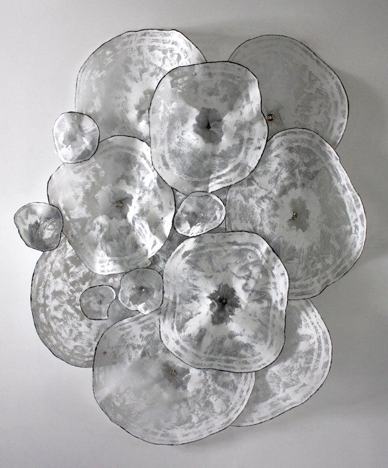 Atticus Adams Abstract Sculpture - Botanical -  Large Original Three-Dimensional Wall Art