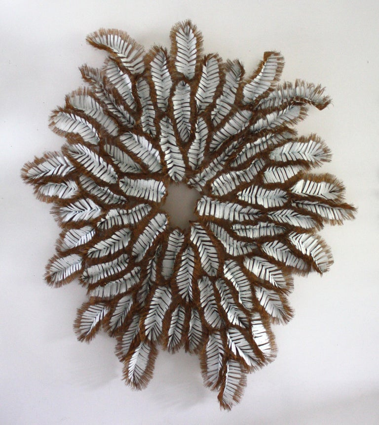 Chenille-Bronze - Abstract Sculpture by Atticus Adams