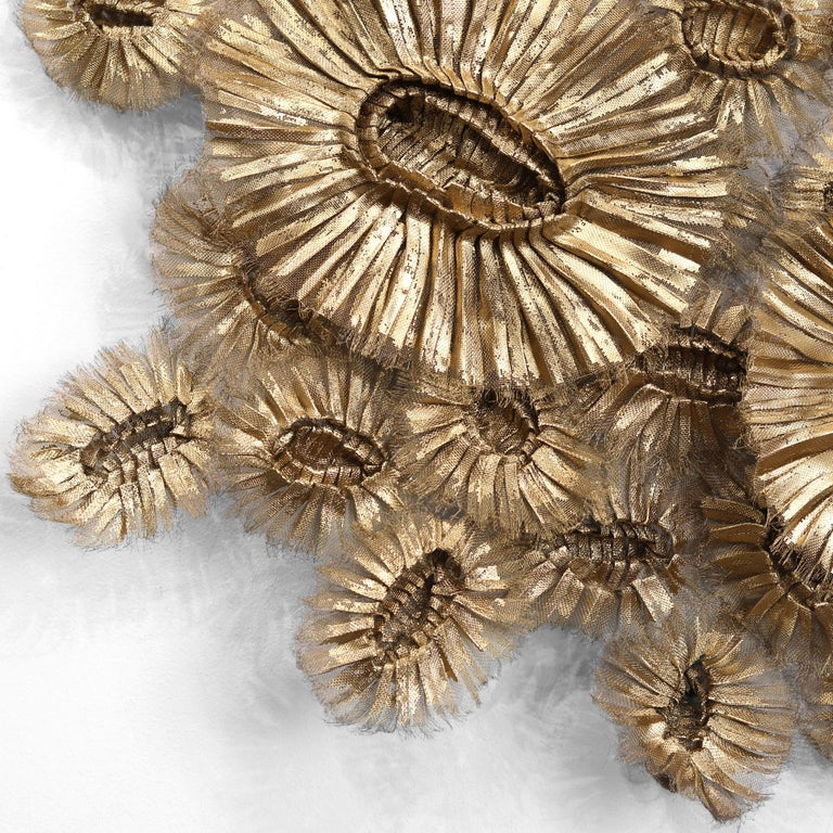 Flora Chanel Gilded  - Large Three-Dimensional Wall Art 8