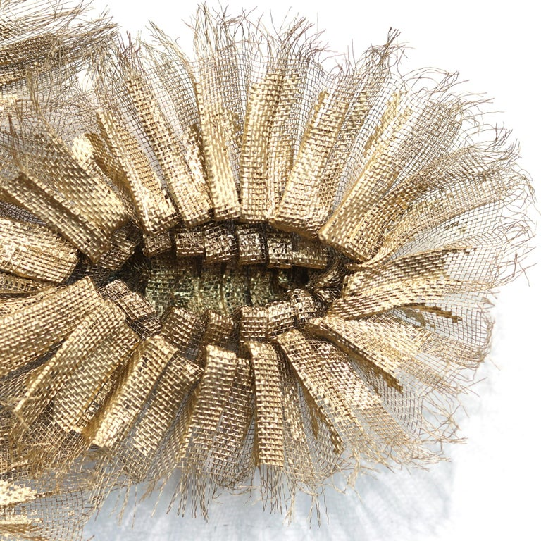 Flora Chanel Gilded  - Large Three-Dimensional Wall Art 6