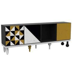 Attitude Multicolored Modular Sideboard