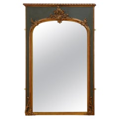 Attractive 19th Century Trumeau Mirror