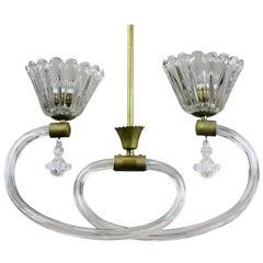 Attractive Pendant Light by Barovier