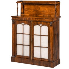 Attractive Regency Period Two-Door Chiffonier