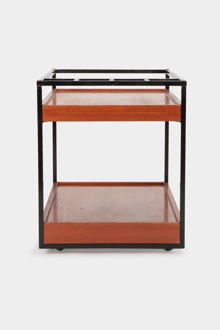 Mid-20th Century Attributed to Cees Braakman Bar Cart Pastoe, 1950s For Sale