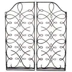 Attributed to Rene Prou and Raymond Subes Pair of Grilles/Gates