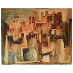 Attributed to Sadanand K. Bakre, Indian Artist, Venetian Cityscape, 1950s