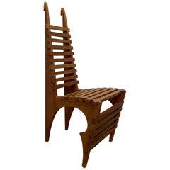 Atypical Chair, Probably French, 1980s