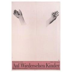 Au Revoir Les Enfants 1988 East German A1 Film Poster