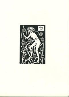 L'Homme - Original Lithograph after Aubrey Beardsley - 1970