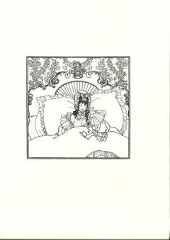 L'Incommunicabilité - Original Lithograph after Aubrey Beardsley - 1970