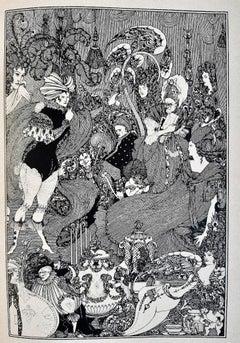 Sous la Colline - Original Rare Book Illustrated by A. V. Beardsley - 1908