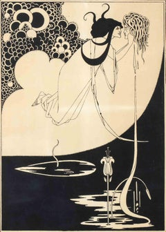 The Climax - Original Lithograph by A. V. Beardsley - 1893