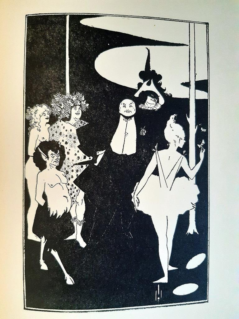 Aubrey Vincent Beardsley Figurative Print - The Rape of the Lock - Rare Book Illustrated by A. V. Beardsley - 1896