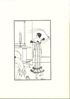 Wonderful Mission of Earl Lavender - Original Lithograph by Beardsley - 1970s