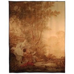 Aubusson French Antique Tapestry
