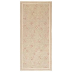 Aubusson Rug by Eric Cohler in Beige and Pink