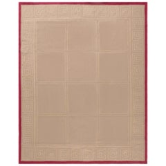Aubusson Rug by Mariette Himes Gomez in Brown & Red