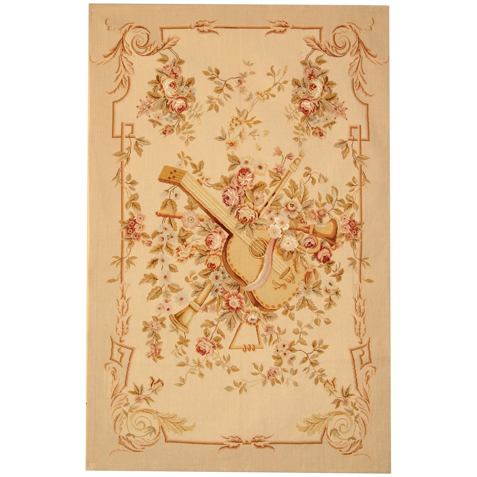 Aubusson Style Rug Floral Carpet Interior Home Decor