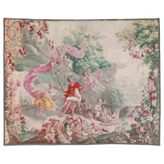 Aubusson Tapestry with a Bacchanalian Scene