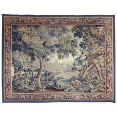 Aubusson Verdure Tapestry Late 18th-Early 19th Century