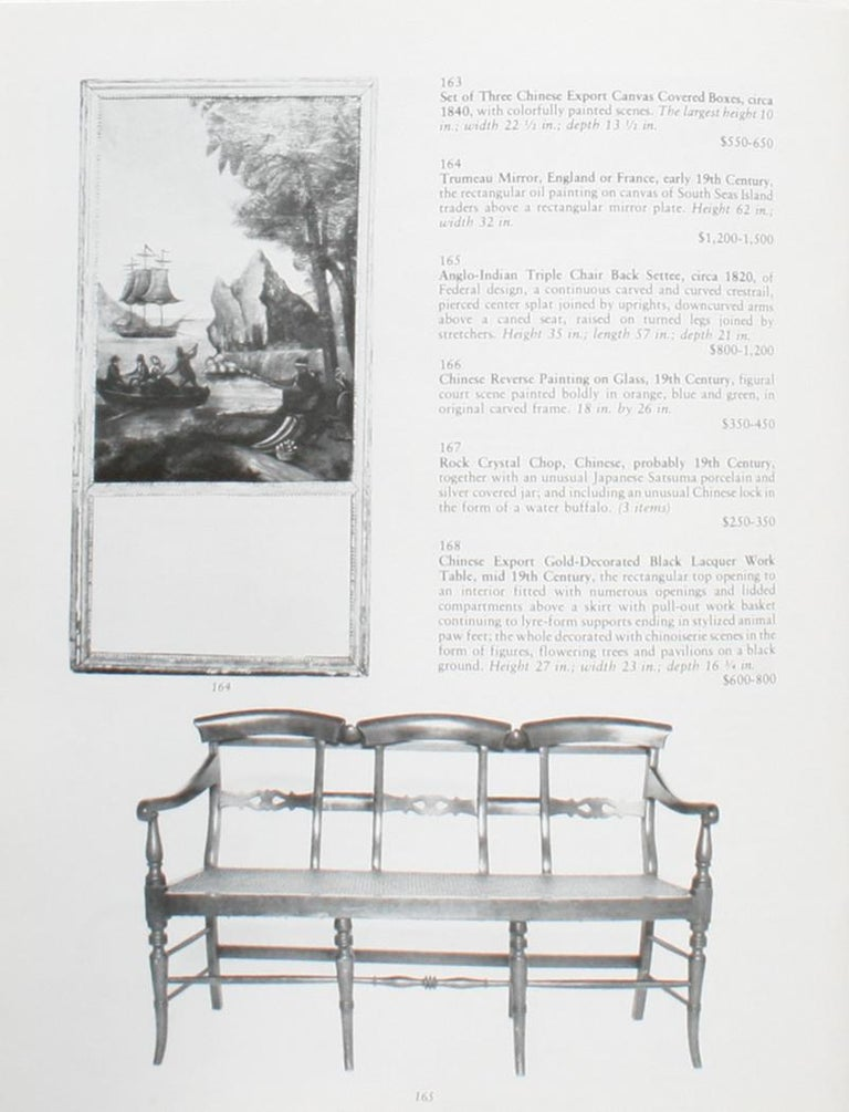 Auction Catalogue for The Collections of Cornelia Van Rensselaer Hartman In Good Condition For Sale In Kinderhook, NY