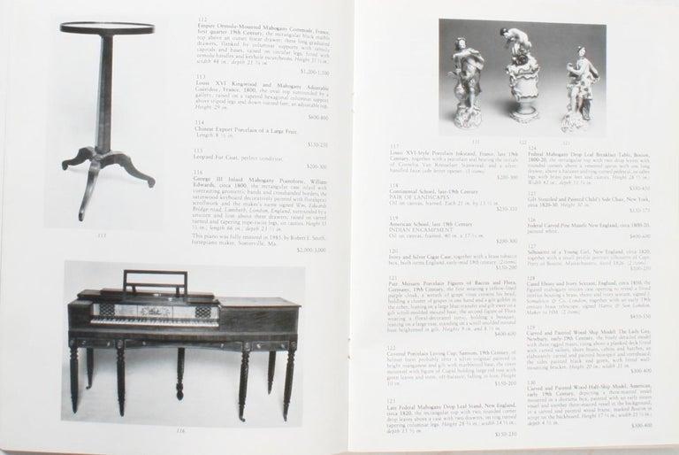 Auction Catalogue for The Collections of Cornelia Van Rensselaer Hartman For Sale 1