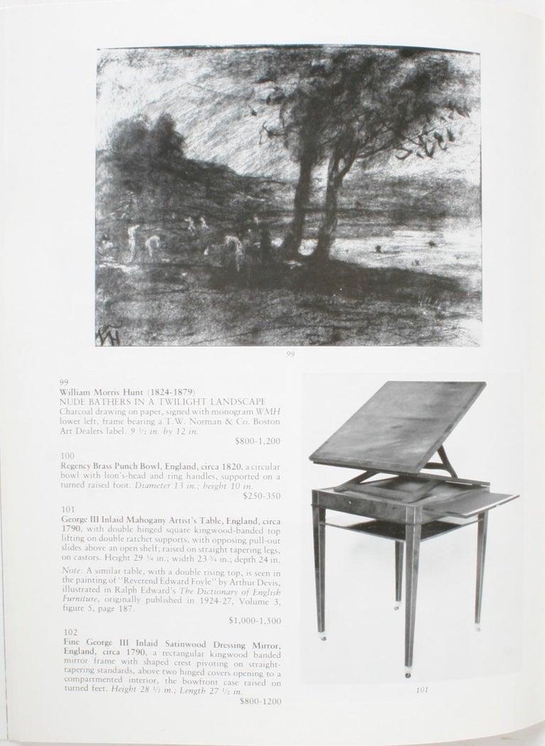 Auction Catalogue for The Collections of Cornelia Van Rensselaer Hartman For Sale 2