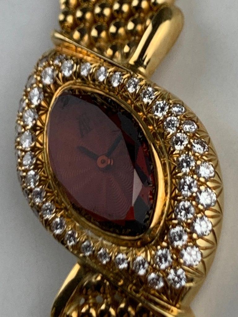 Audemars Piguet 18 Karat Gold Cocktail Watch For Sale 8