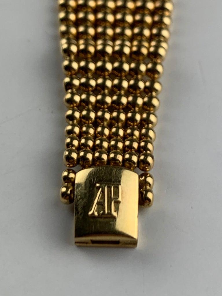 Audemars Piguet 18 Karat Gold Cocktail Watch For Sale 9