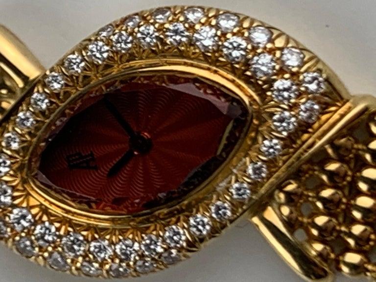 Audemars Piguet 18 Karat Gold Cocktail Watch For Sale 10