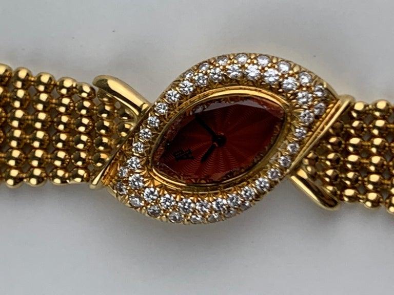 Audemars Piguet 18 Karat Gold Cocktail Watch For Sale 11
