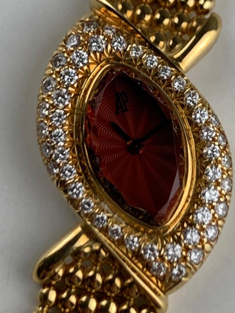 Audemars Piguet 18 Karat Gold Cocktail Watch For Sale 12
