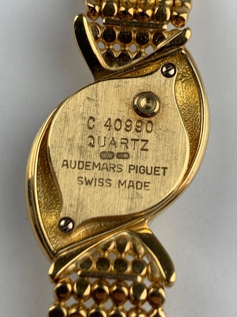 Audemars Piguet 18 Karat Gold Cocktail Watch In Good Condition For Sale In  London, GB