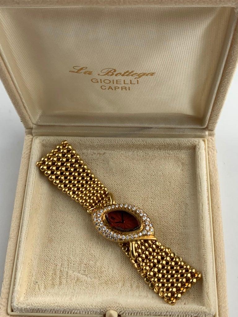 Audemars Piguet 18 Karat Gold Cocktail Watch For Sale 3