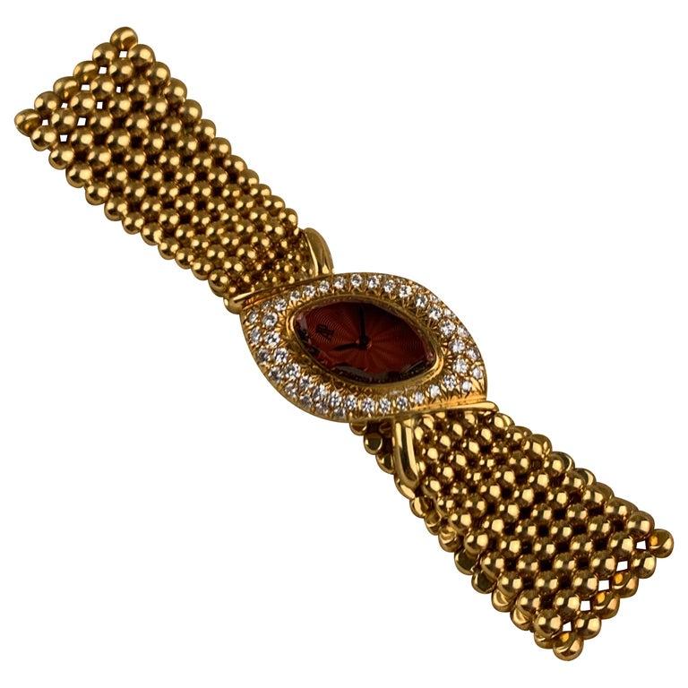 Audemars Piguet 18 Karat Gold Cocktail Watch For Sale