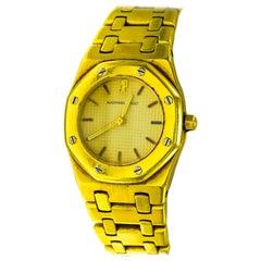 Audemars Piguet 18 Karat Gold Watch