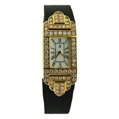 Audemars Piguet 18 Karat Yellow Gold Ladies Quartz Dress Watch Never Sold