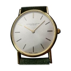 Audemars Piguet 18k Gold Men's Geneve Automatic, c.1980s Swiss Luxury LV957GRN