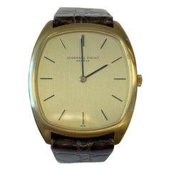 Audemars Piguet 18K Yellow Gold Strap Watch
