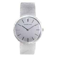Audemars Piguet 18Kt White Gold Ultra Thin Manual Winding Watch, 1960's